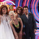 Lorena Gómez, Beatriz Luengo, Rosa López y Blas Cantó, en la gala final de 'Tu cara me suena 5'