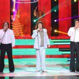 Juan Muñoz y Los Chunguitos son Los Chichos en la gala final de 'Tu cara me suena 5'