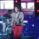 David Guapo es Chuck Berry en la gala final de 'Tu cara me suena 5'