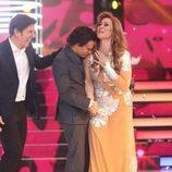 Blas Cantó rompe a llorar y abraza a su compañera Rosa López en la gala final de 'Tu cara me suena 5'