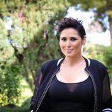 Rosa López en la rueda de prensa de 'Tu cara me suena'