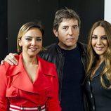 Mónica Naranjo, Chenoa y Manel  Fuentes en la rueda de prensa de 'Tu cara no me suena todavía'