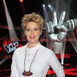 Tania Llasera comenta todo lo sucedido en el backstage en la tercera edición de 'La Voz Kids'