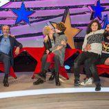 José Luis Gil, Esther Arroyo y El Sevilla con sus hijos en 'Jugando con las estrellas'
