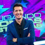 Jaime Cantizano es el presentador de 'Jugando con las estrellas'