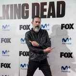 Jeffrey Dean Morgan de 'The Walking Dead' en el photocall del Eurotour en los cines Capitol