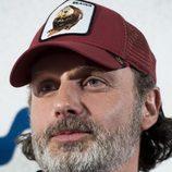 Andrew Lincoln, más conocido como Rick Grimes, posa en los cines Capitol  en 'The Walking Dead' Eurotour