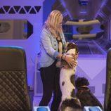 Emma Ozores recibe la visita de sus perros en la gala 11 de 'GH VIP 5'