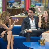 Ivonne Reyes, Marco Ferri y Aylén Millá en la gala 11 de 'GH VIP 5'