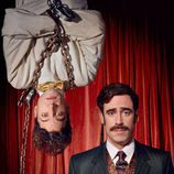 Michael Heston y Stephen Mangan en 'Houdini y Doyle'