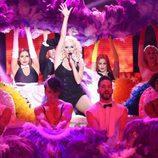 Ruth Calixta es Christina Aguilera en la primera gala de 'Tu cara no me suena todavía'