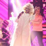 Cristina Tarragó es Celia Cruz en la primera gala de 'Tu cara no me suena todavía'