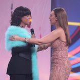 Ruth Lorenzo y Mónica Naranjo en la primera gala de 'Tu cara no me suena todavía'