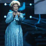 Cristobal Garrido es Olga Guillot en la primera gala de 'Tu cara no me suena todavía'