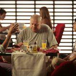 Félix Gómez y Cristina Brondo cenando en 'Herederos'