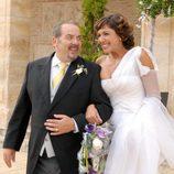 Natalia y Sergio se casan en la serie  'Lalola'