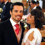 Octavi Pujades y Daniela Costa en 'Lalola'
