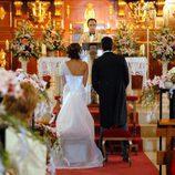 Natalia y Sergio se casan en 'Lalola'