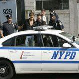 Gary Sinise en una detención en 'CSI: Nueva York'