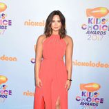 Demi Lovato en la alfombra roja de los Nickelodeon's 2017 Kids' Choice Awards