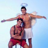 Antonio y Manoel, concursantes temporales de 'GH VIP 5', se disfrazan de ángel y demonio