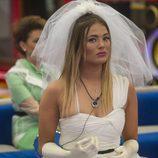 Alyson Rae Eckmann se disfraza de novia en la gala 12 de 'GH VIP 5'