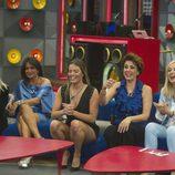 Las concursantes  de 'GH VIP 5' durante la gala 12 del reality