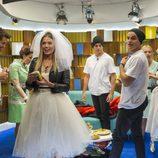 Alyson aparece disfrazada de novia en la gala 12 de 'GH VIP 5'