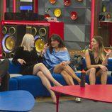 Daniela, Aída, Alyson e Irma junto a Antonio ('Big Brother Brasil') en 'GH VIP 5'