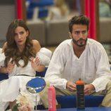 Aylén y Marco Ferri, los novios de la edición, en la gala 12 de 'GH VIP 5'