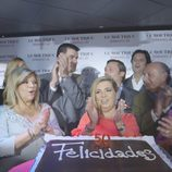 María Teresa Campos y Terelu hacen una fiesta a Carmen por sus 50 años en la sexta entrega de 'Las Campos'