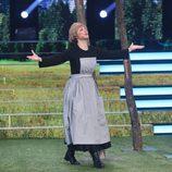María Dolores Ballester es  Julie Andrews en la segunda gala de 'Tu cara no me suena todavía'