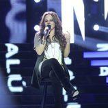 Lorena Fernández es Malú en la segunda gala de 'Tu cara no me suena todavía'