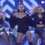 Patricia Aguilar es Ariana Grande en la segunda gala de 'Tu cara no me suena todavía'