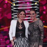 Mónica Naranjo y Chenoa en la segunda gala de 'Tu cara no me suena todavía'