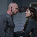 Lincoln (Dominic Purcell) y Sara (Sarah Wayne Callies) en la quinta temporada de 'Prison Break'