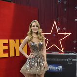 Edurne posa en la final de la segunda edición de 'Got Talent España'