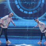 Kanga y Tania en la final de la segunda edición de 'Got Talent España'