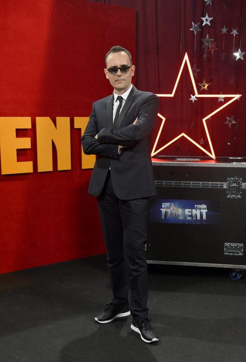 Risto Mejide posa en la final de la segunda edición de 'Got Talent España'