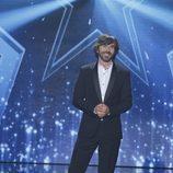 Santi Millán posa en la final de la segunda edición de 'Got Talent España'