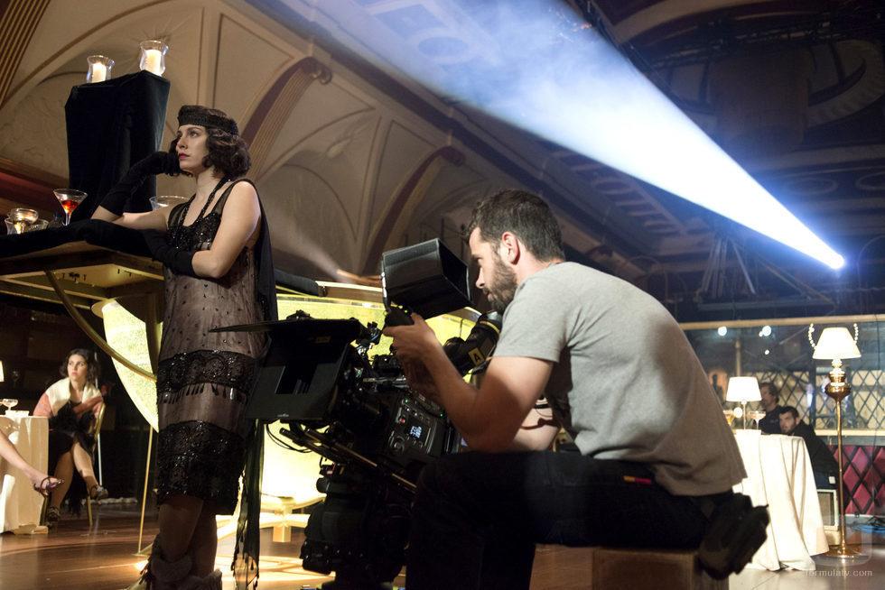 Blanca Suárez, Lidia, en el bar de 'Las chicas del cable'