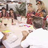 Carmen Borrego y Terelu Campos en la cena de los pinchos en la séptima entrega de 'Las Campos'