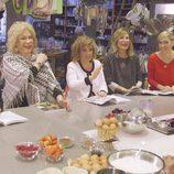 María Teresa Campos asiste a un curso de cocina en la séptima entrega de 'Las Campos'