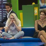 Marco Ferri, Daniela Blume e Irma Soriano en la gala 13 de 'GH VIP 5'
