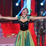 """Mary Porcar es Anna de """"Frozen"""" en la tercera gala de 'Tu cara no me suena todavía'"""