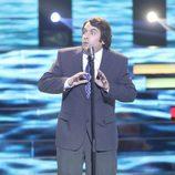 Gabriel Gutiérrez es José Luis Perales en la tercera gala de 'Tu cara no me suena todavía'