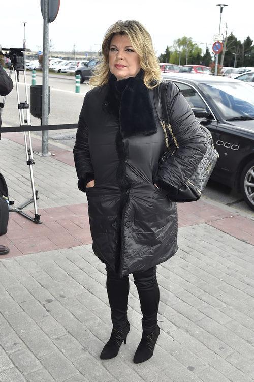 Terelu Campos da el último adiós a Paloma Gómez Borrero