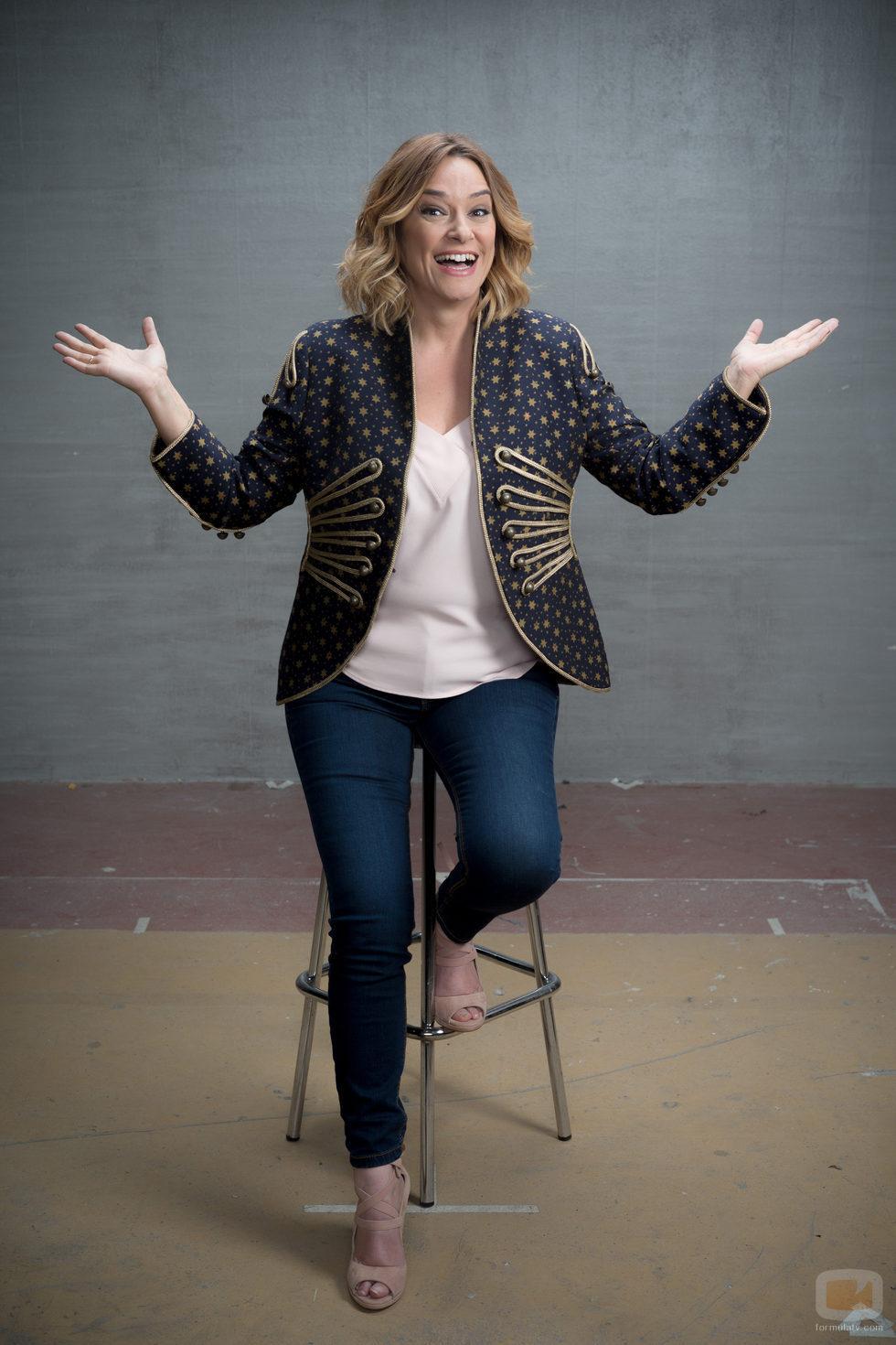 Toñi Moreno, presentadora de 'El árbol de tu vida'