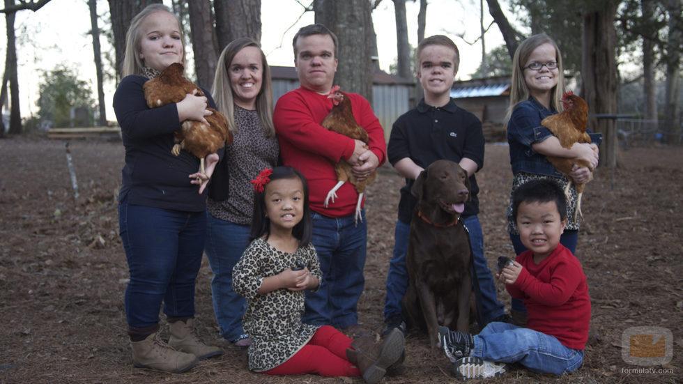 La miembros  al completo de '¡Menuda Familia!'
