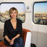 Susanna Griso posa en las fotos promocionales de 'Espejo público'